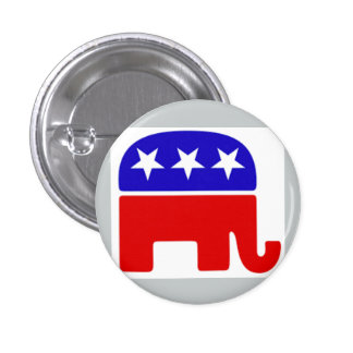 Nobler, frecher, junger republikanischer Knopf Runder Button 2,5 Cm