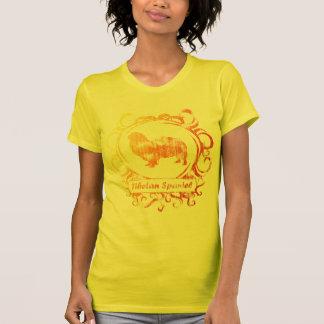 Nobler verwitterter tibetanischer Spaniel T-Shirt