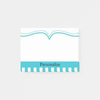 Nobles aquamarines Blau - Diy Text Post-it Klebezettel