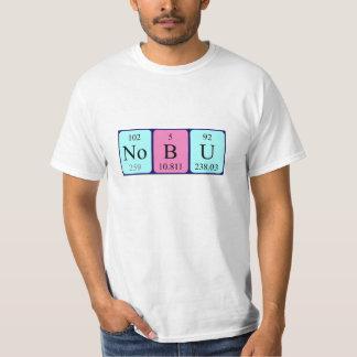 Nobu Namen-Shirt periodischer Tabelle T-Shirt