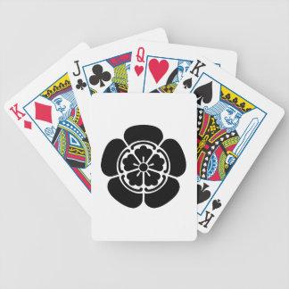 Nobunaga Oda Bicycle Spielkarten