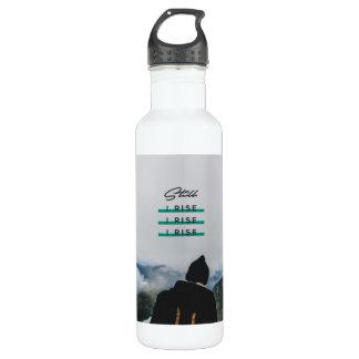 >> Noch steige ich >> Wasser-Flasche Trinkflasche