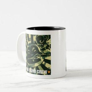 Nocken-Crew-Tasse Zweifarbige Tasse