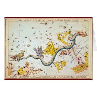 Noctua, Corvus, Krater, usw. Grußkarte