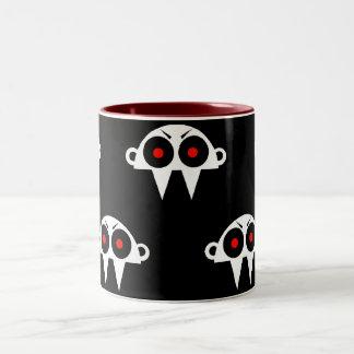 Nofi – the Vampire Kopf Zweifarbige Tasse