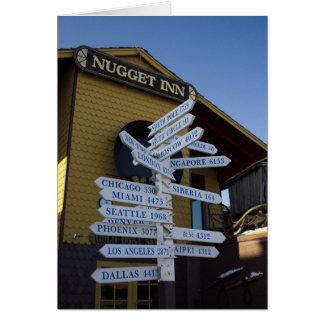 Nome Milepost Karte