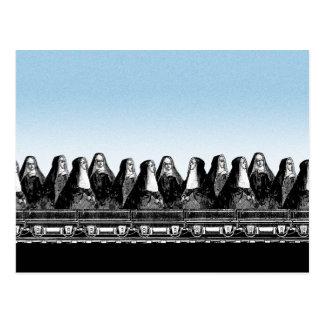 Nonnen-Zug Postkarte
