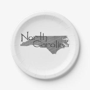 Nord-CarolinapapierParty-Teller Pappteller