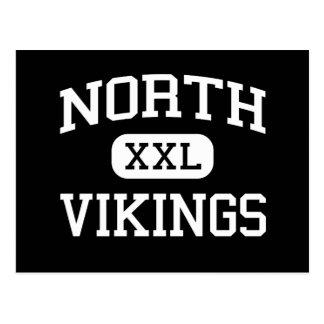 Nord- Wikinger - Nordhigh School - Akron Ohio Postkarte