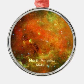 Nordamerika-Nebelfleck Silbernes Ornament