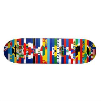 Nordamerikaner kennzeichnet Skateboard Skateboard Brett