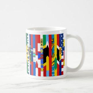 Nordamerikaner kennzeichnet Tasse