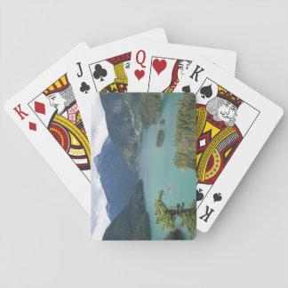 Nordkaskaden-Diablo See-Foto Spielkarten