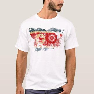 Nordkorea-Flagge T-Shirt