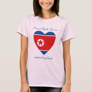 Nordkorea-Flaggen-Schatz-T - Shirt