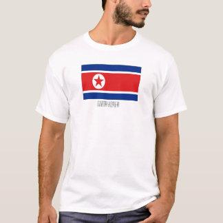 Nordkorea-Flaggent-shirt T-Shirt