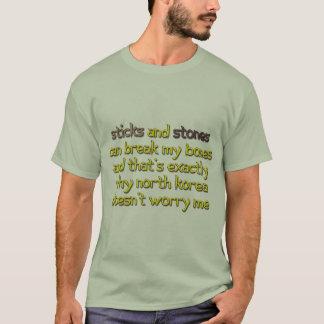 Nordkorea sorgt mich sich nicht T-Shirt