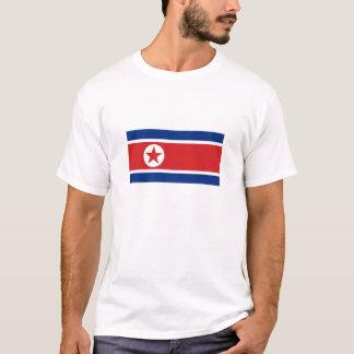 Nordkorea-Staatsflagge T-Shirt