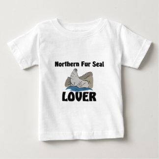 Nordpelz-Siegel-Liebhaber Baby T-shirt