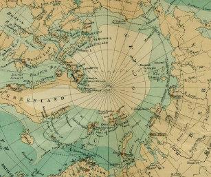 Nordpolarmeer Karte.Nordpolarmeer Mousepads Zazzle At