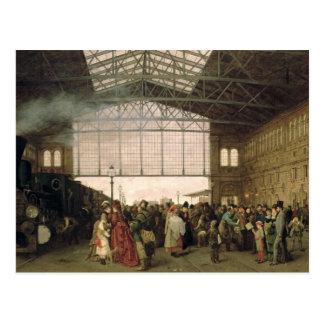 Nordwest Bahnhof, Wien, 1875 Postkarte