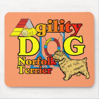 Norfolk_Terrier_Agility Mauspad