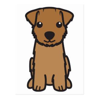 Norfolk-Terrier-HundeCartoon Postkarte