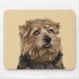 Norfolk Terrier Mousepads