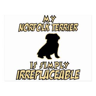 Norfolk Terrier.png Postkarte
