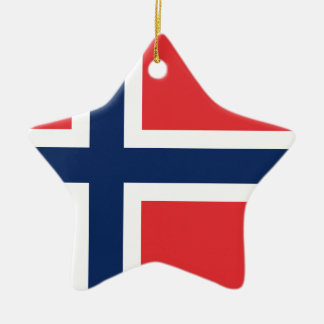 norieguian Flagge Keramik Stern-Ornament