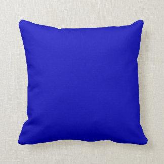Normallack-Kobalt-Blau Kissen
