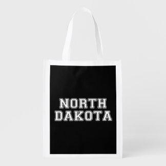 North Dakota Wiederverwendbare Tragetaschen