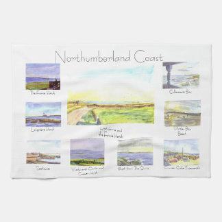 Northumberland-Küsten-Tee-Tuch Handtuch