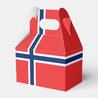 Norwegen-Flagge Geschenkschachtel