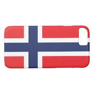 NORWEGEN-FLAGGE iPhone 8/7 HÜLLE
