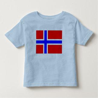 Norwegen-Flagge Kleinkind T-shirt