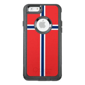 Norwegen-Flagge OtterBox iPhone 6/6s Hülle
