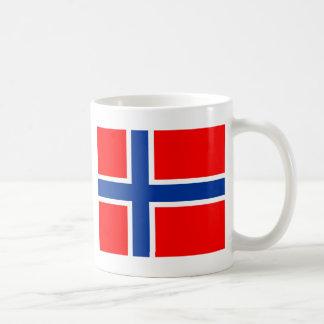 Norwegen-Flagge Tasse