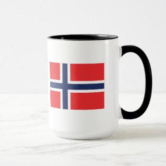 Norwegen-Flaggen-Tasse Tasse