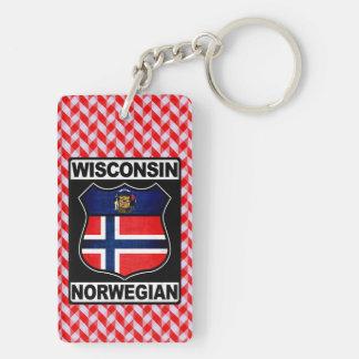 Norwegischer amerikanischer Schlüsselring