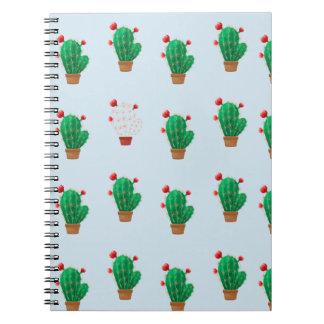 Noteswith Kaktus Notizblock