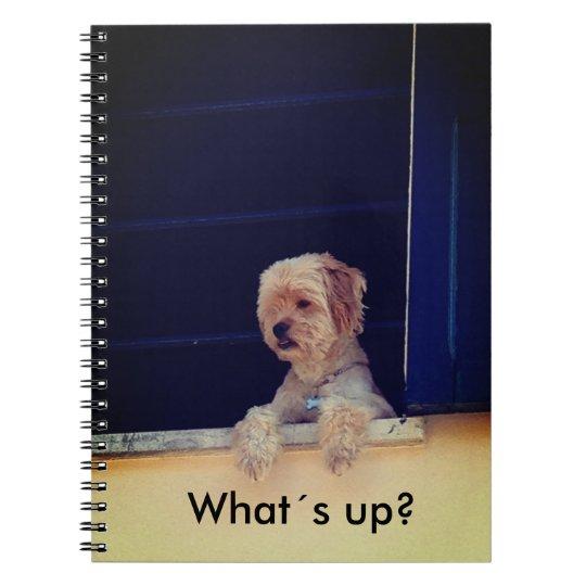 Notizbuch mit Hundemotiv Notizblock