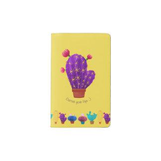 Notizbuch mit Kakteen