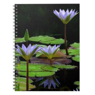 Notizbuch/persönliche Zeitschrift - lila Spiral Notizbuch