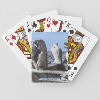 Notre Dame, Paris, Frankreich Spielkarten