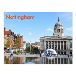 Nottingham Postkarte