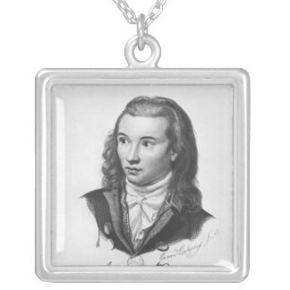Novalis 1845 versilberte kette