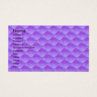 NOVINO - Lila Blumen-Blatt Visitenkarte