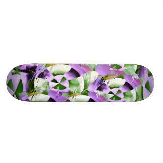 NOVINO lila Räder Personalisierte Skateboarddecks