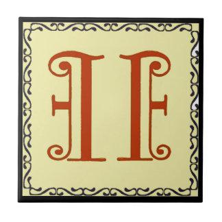 Nr., 11 Hausnummer-rotes extravagantes Kleine Quadratische Fliese